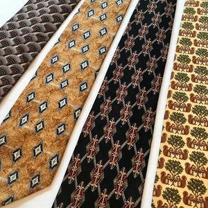 Set of 4 Men's Ties in great condition.